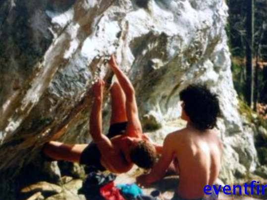 What is bouldering?  Climbing at jump height or more?