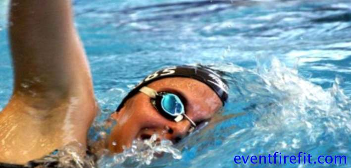Case study of a swimmer